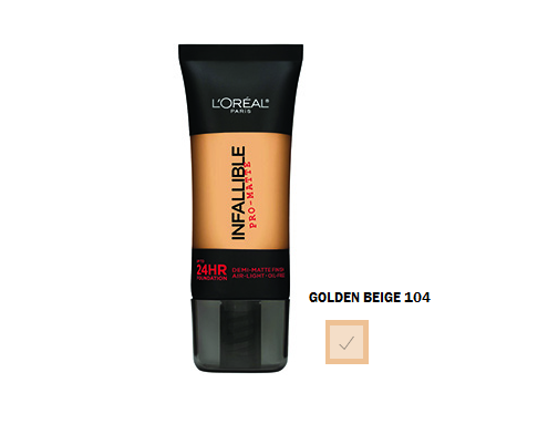 L'oreal - Base Infallible Pro-Matte 24 Hr