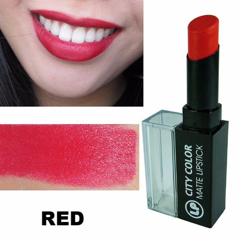 City Color - Labial Mate - Be Matte Lipstick