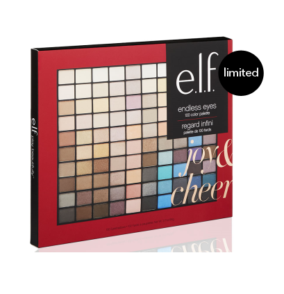 Sombras 100 colores - Endless Eyes Kit