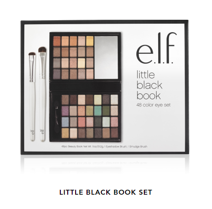Sombras 48 colores - Little Black Beauty Book Set Warm edition