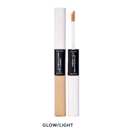 e.l.f. - Corrector e iluminador/Under Eye Concealer & Highlighter