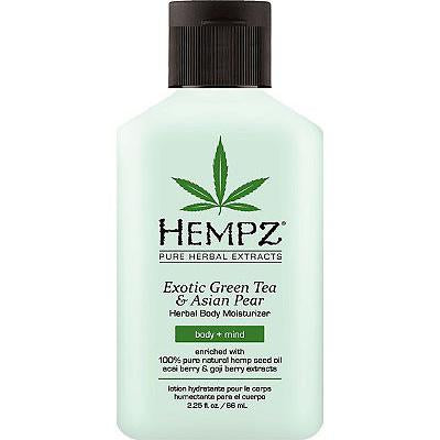 HEMPZ - Exotic Green Tea & Asian Pear / Hidratante Corporal Tamaño Viajero