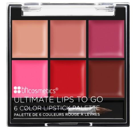 BH COSMETICS - Paleta de labios 6 colores To Go