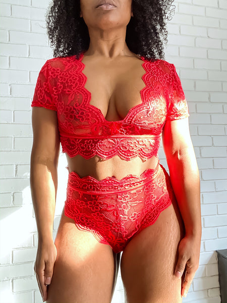 BE MINE - TOP RED
