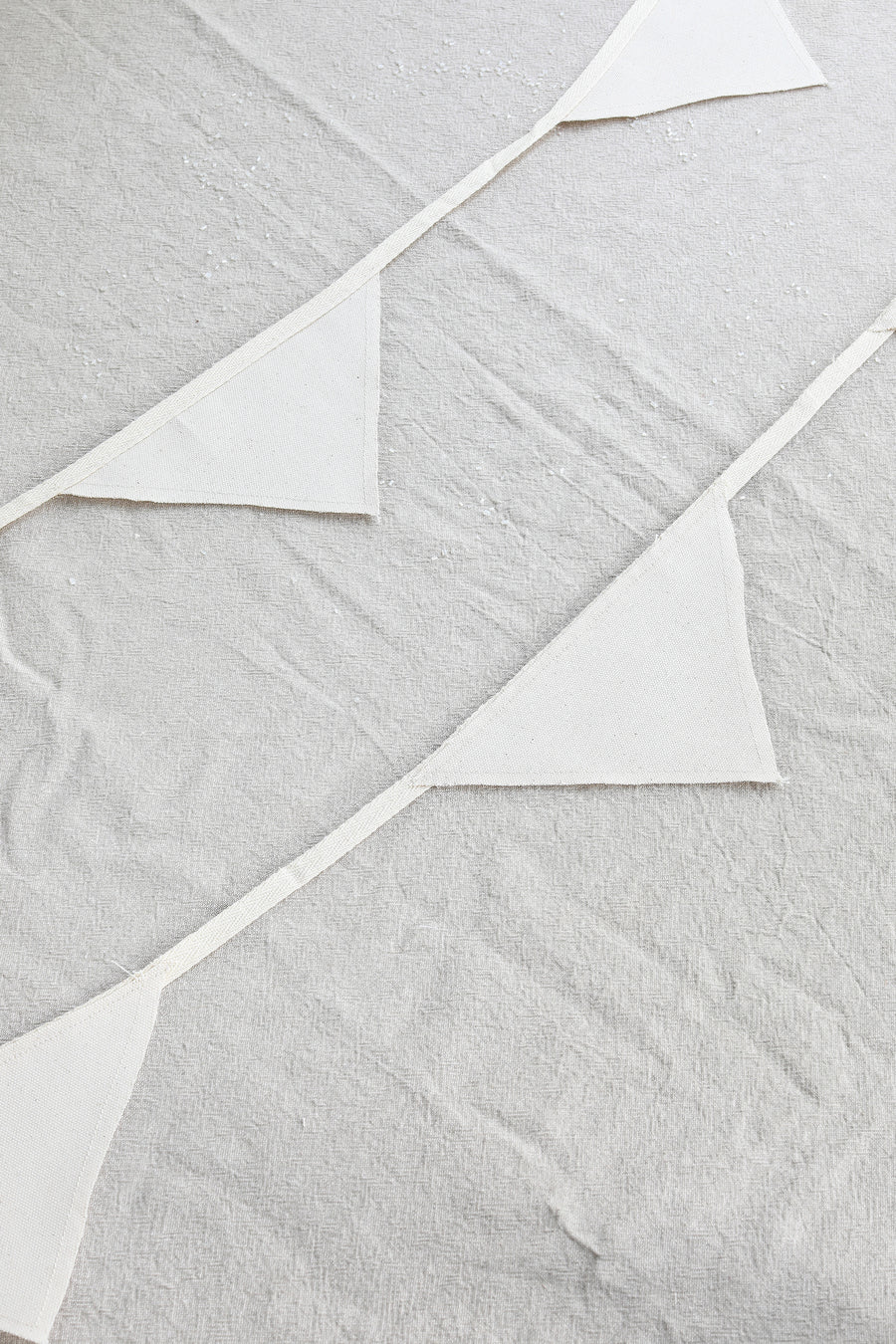 Cotton Party Garland | Triangle