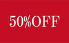 Sale - 50% off Selected Items