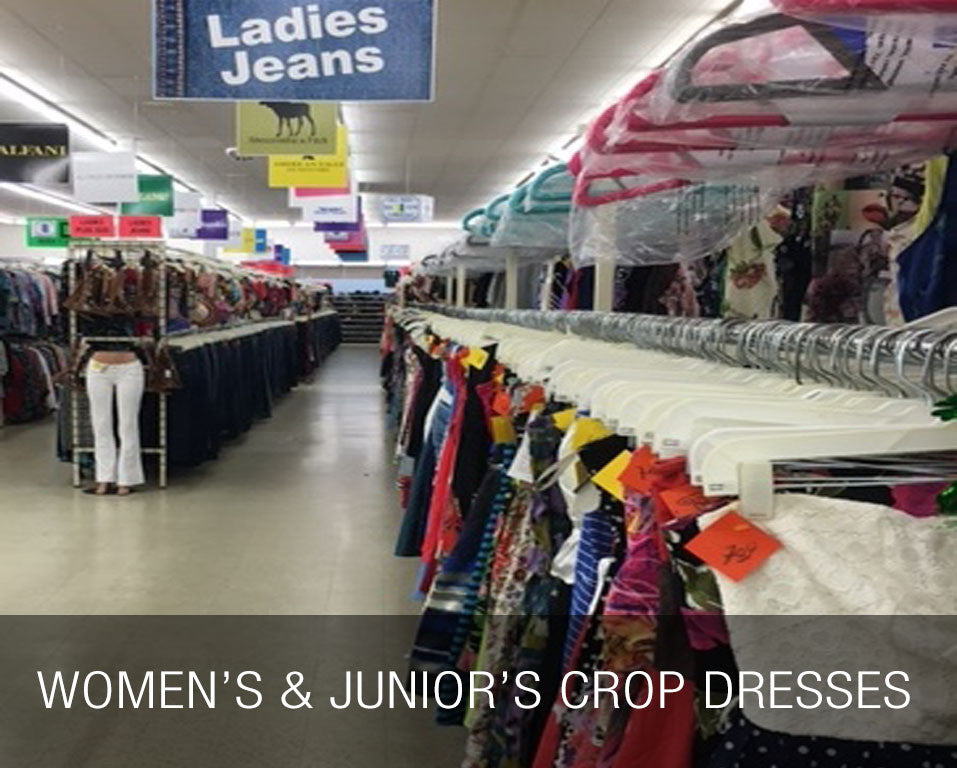 Women's & Junior's Crop Dresses