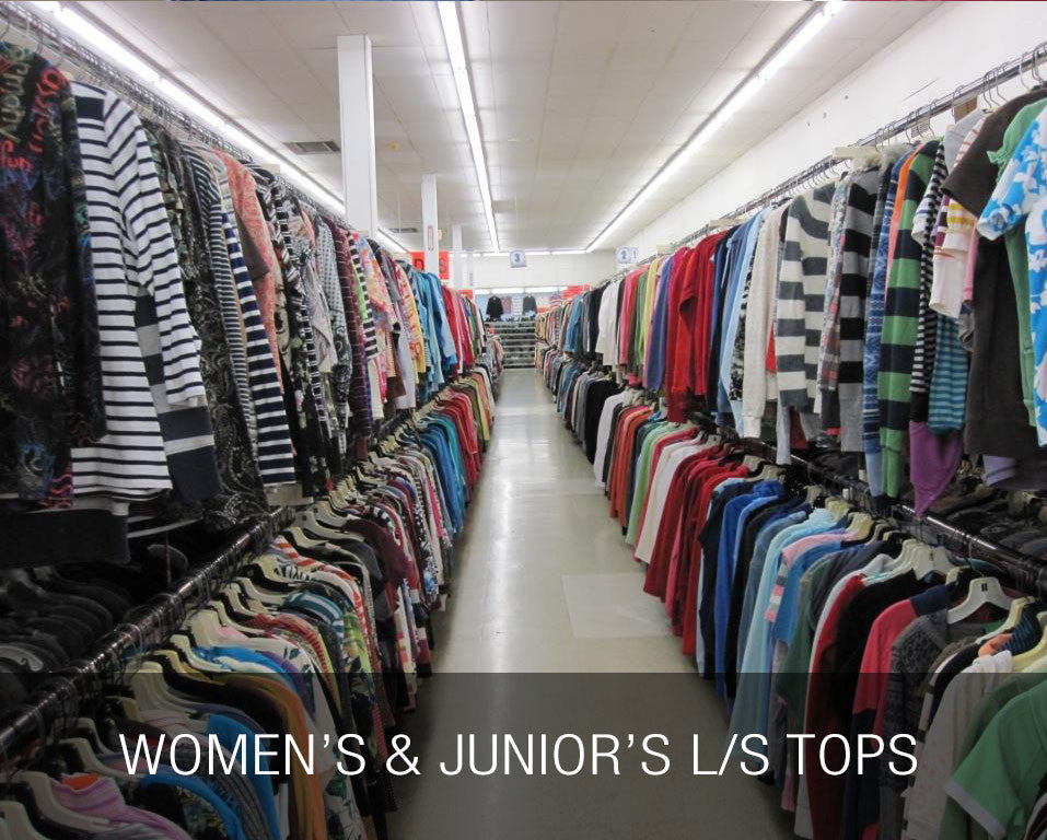 Women's & Junior's LS Tops