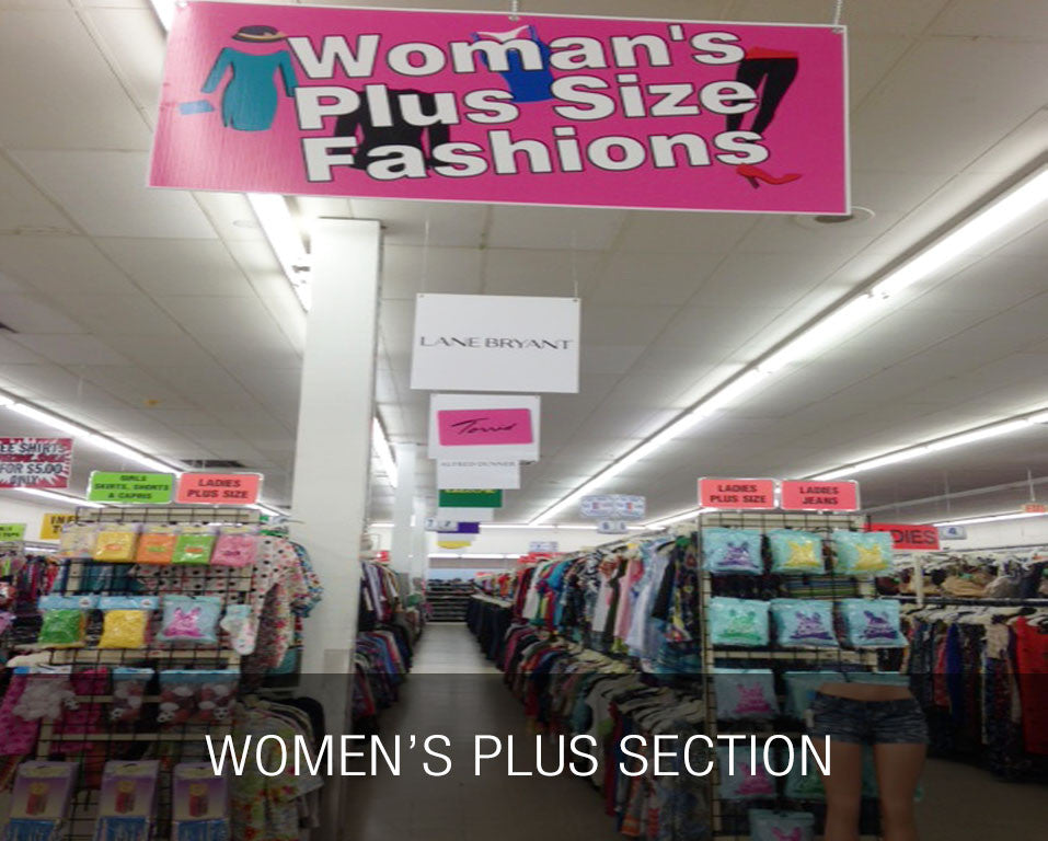 Women's Plus Section