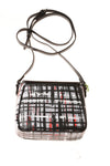 NEW Vera Bradley Women's Handbag Small Black Plaid