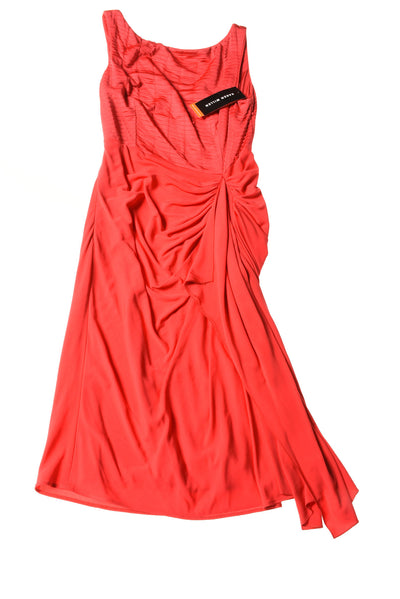 NEW Karen Milen Women's Dress 8 Red