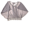 NEW Rue 21 Women's Top Large Gray