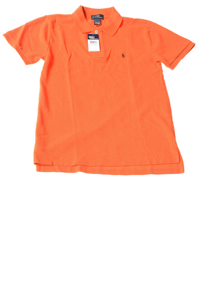 NEW Ralph Lauren Boy's Shirt Medium Orange