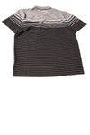 NEW Alfani Men's Shirt Large Black & Gray