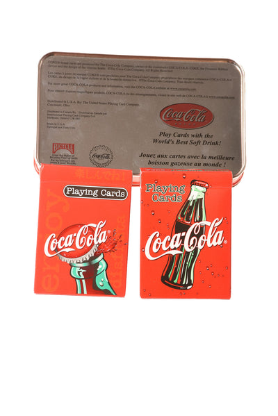 USED Coca Cola Playing Cards N/A N/A