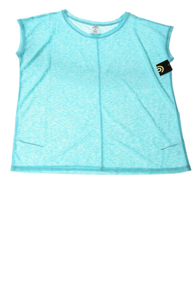 NEW Champion Women's Top Medium Light Blue