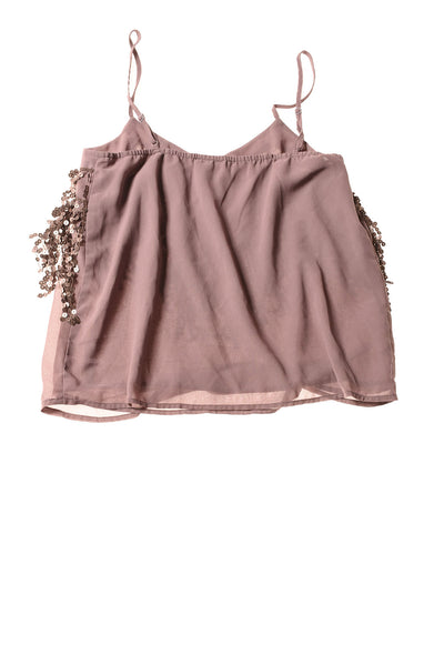 USED BKE Women's Top Small Plum