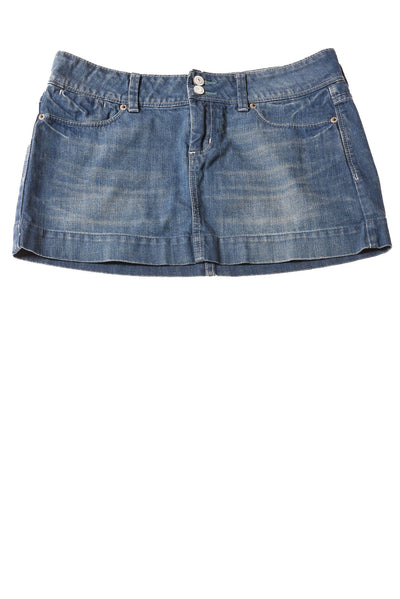 USED American Eagle Women's Skirt 6 Blue