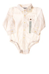 NEW Baby Gap Baby Top 18-24 Months White