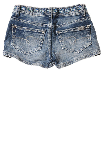 USED Justice Girl's Shorts 10 Blue