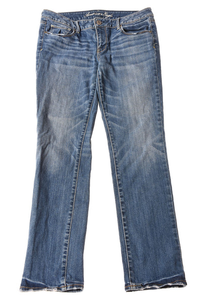 USED American Eagle Women's Jeans 12 Blue