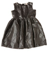 USED H&M Girl's Dress 9/10 Black / Metallic