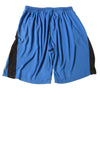 USED Reebok Men's Shorts Medium Blue & Black
