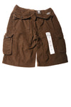 NEW Swiss Cross Boy's Shorts 14 Brown