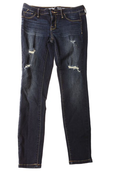 USED Mossimo Women's Jeans 2 Blue