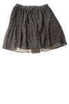 USED Michael Kors Women's Skirt XX-Small Black / Floral