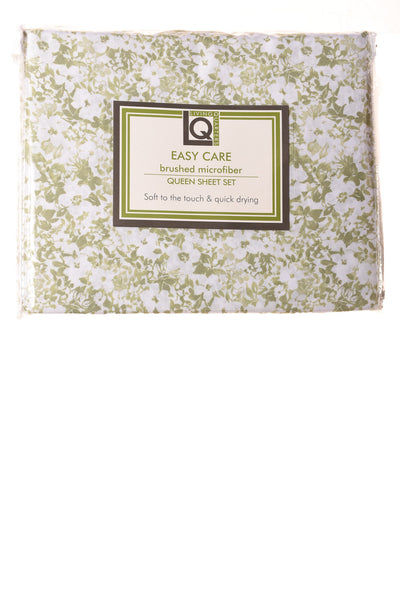 NEW Living Quarters Sheet Set N/A Green & White / Floral