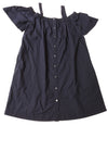 USED Ann Taylor Loft Women's Dress Medium Blue