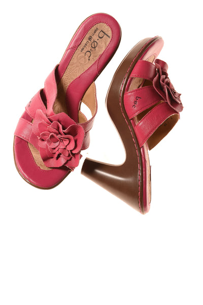 USED Born Women's Shoes 8 Hot Pink