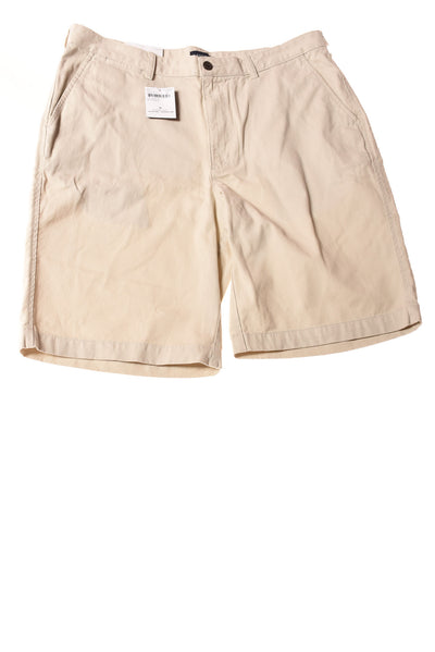 NEW Lands' End Men's Shorts 36 Tan