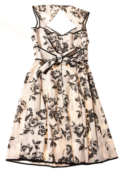 NEW Jessica Simpson Women's Dress 6 White / Floral