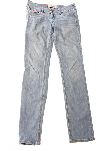 USED Hollister Women's Jeans 1 Blue