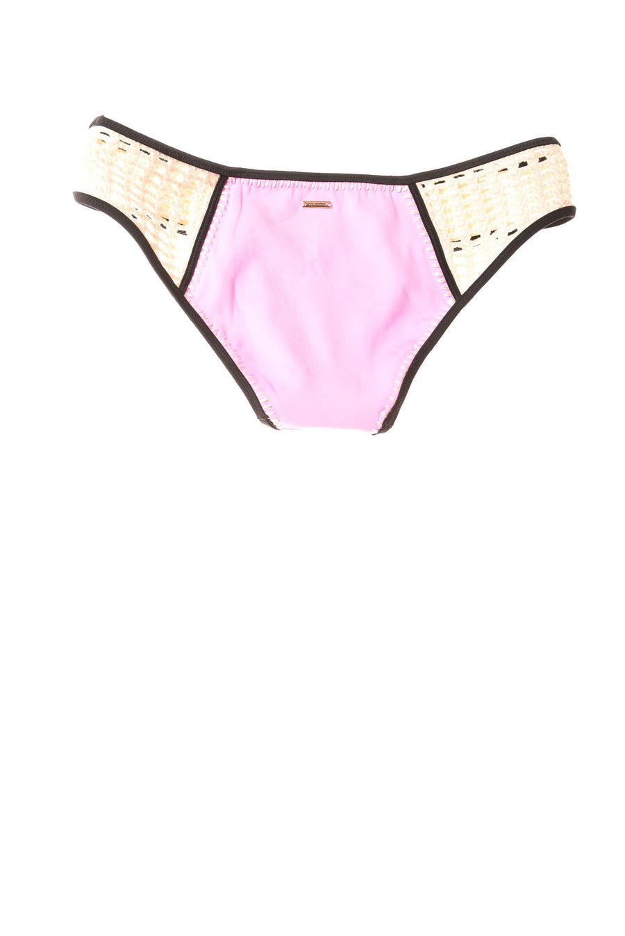 NEW Victoria Secret Swim Women's Swimwear Small Pink / Tan