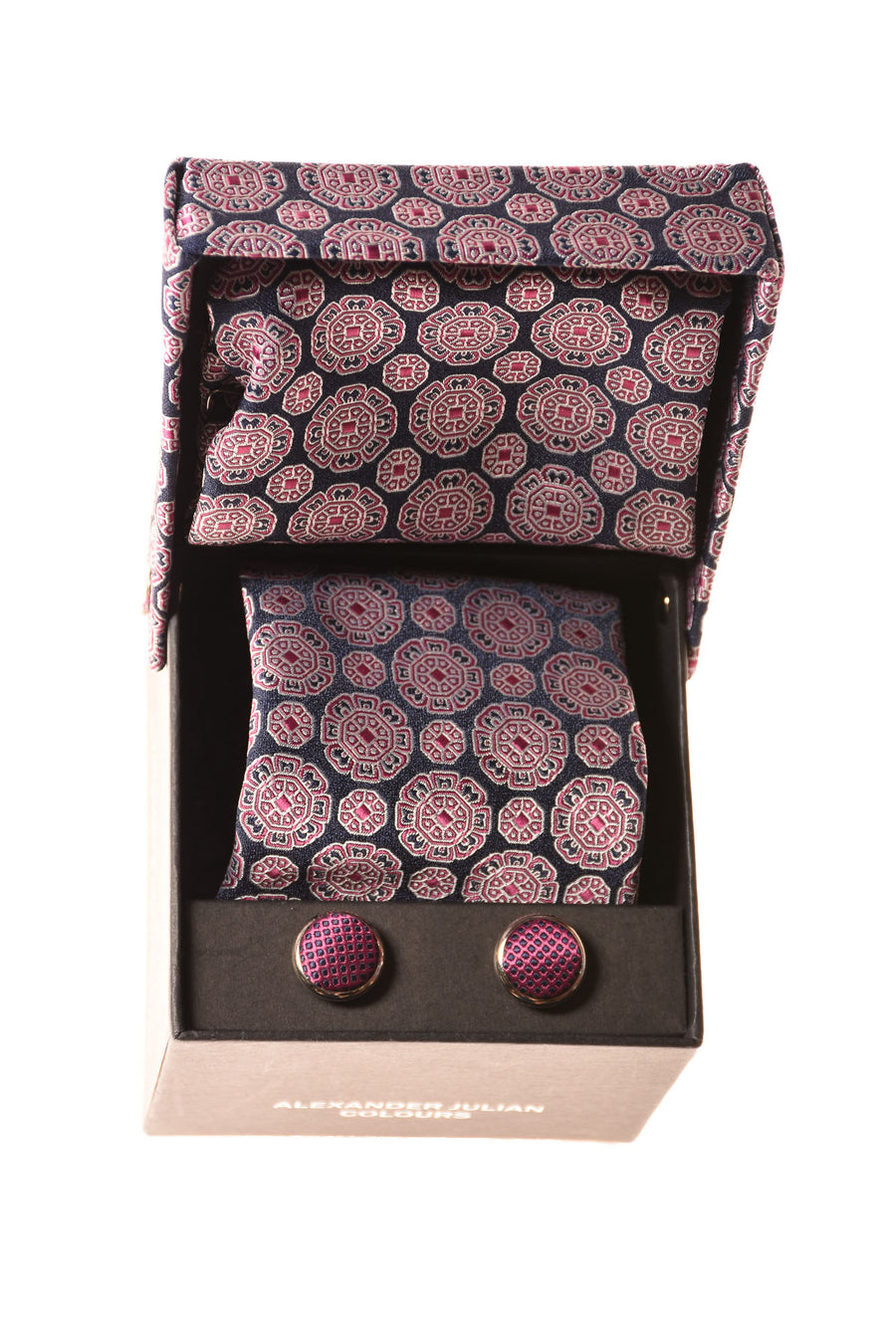 Men's Tie Set By Colours By Alexander Julian