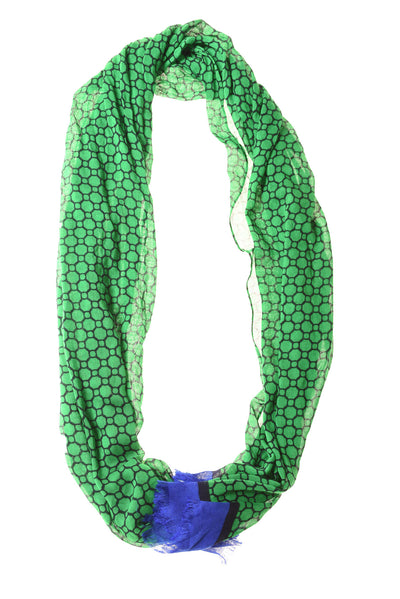 NEW Vera Bradley Women's Scarf N/A Green / Blue