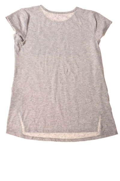 USED Adidas Girl's Top Large Grey