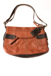 USED Tignanello Women's Handbag N/A Brown & Rust