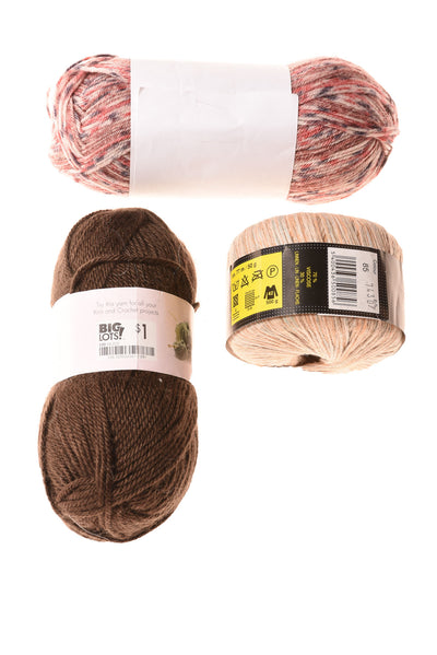 NEW No Brand Yarn N/A Brown