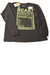 NEW Urban Pipeline Boy's Sweat Shirt Large Charcoal