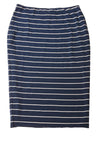 USED Vince Camuto Women's Skirt  X-Small Navy / Striped