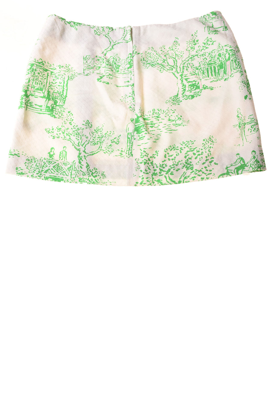 USED Lilly Pulitzer Women's Skirt  6 White / Print