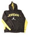 USED Jordan Boy's Shirt 12-13 Black & Yellow / Print