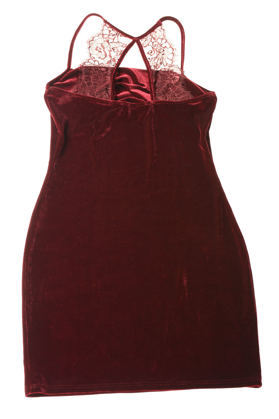 NEW Lulu's Women's Dress Large Burgundy