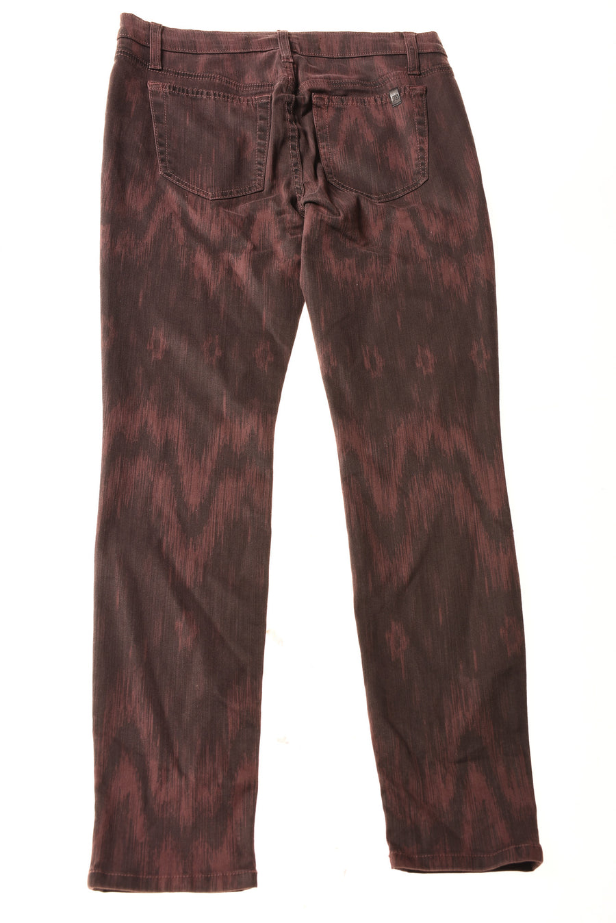 USED Joe's Women's Jeans 28 Burgandy