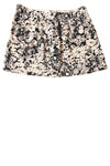 USED Gap Women's Skirt 10 Black & Gray / Floral