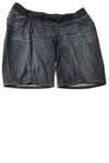 USED Liz Lange Women's Maternity Shorts X-Large Blue